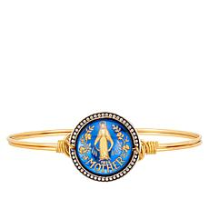 Luca + Danni Miraculous Medal Intaglio Stack Bracelet