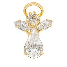 Luca + Danni Original Angel Goldtone Crystal Brooch