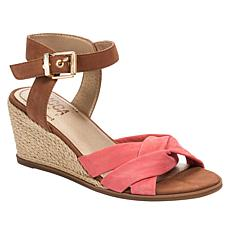 Lucca Lane Hermione Wedge Sandal