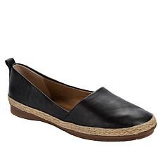 Lucca Lane Naomi Leather Fashion Flat