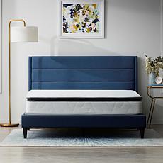 """Lucid 10"""" Refresh Luxe Pillowtop Hybrid Twin Mattress"""