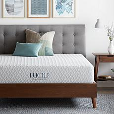 "LUCID Comfort Collection 10"" Plush Memory Foam Mattress - Twin XL"