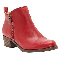 Lucky Brand Basel Leather or Suede Bootie