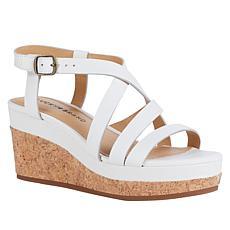 Lucky Brand Batikah Cork Platform Wedge Sandal