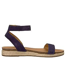 Lucky Brand Garston Suede Flat Espadrille Sandal