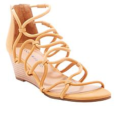 Lucky Brand Jilses Leather Wedge Sandal