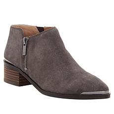 Lucky Brand Koben Leather or Suede Western Bootie