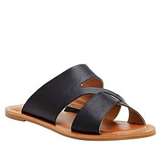 Lucky Brand Leelan Leather Flat Slide