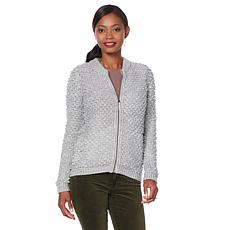 Lucky Brand Sweater Bomber - Missy
