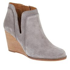 Lucky Brand Yabba Leather Ankle Bootie