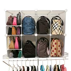 Luxury Living Park-a-Purse®  Closet Organizer