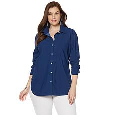 LYSSE Shiffer Button Down Top - Plus