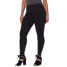 LYSSE Smoothing Waist Stretch Denim Legging - Plus