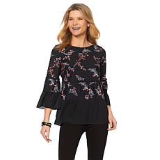 LYSSE Waverly Ruffled Blouse - Missy