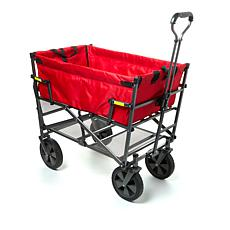 Mac Sports Double Decker Foldable Wagon with Shelf and Cover