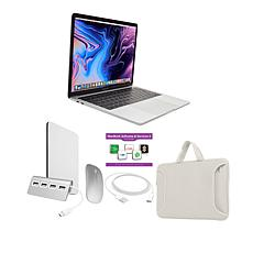 """MacBook Pro 13"""" Apple M1 512GB SSD with Accessories - Silver/Red"""