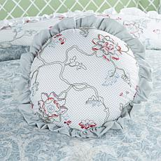 Madcap Cottage Evening in Shalimar Round Pillow