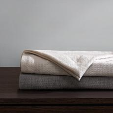 Madison Park 100% Wool Luxury Gift Pack Bed Throw