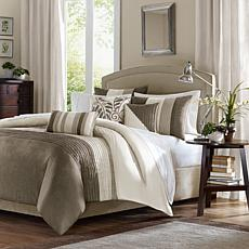 Madison Park Amherst Duvet Set Full/Queen Natural