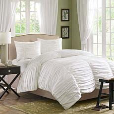 Madison Park Delancey Comforter Set King White
