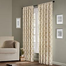 "Madison Park Ella Window Panel - 42"" x 63"" - Tan"