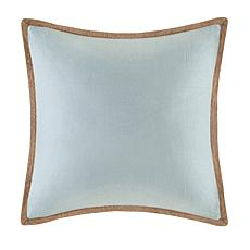 Madison Park Embroidered Decorative Square Pillow