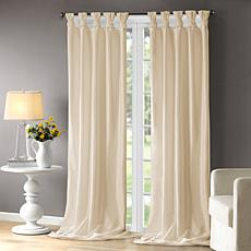 "Madison Park Emilia Curtain - Champagne - 50"" x 108"""