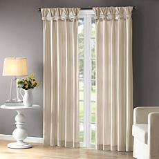 "Madison Park Emilia Curtain - Champagne - 50"" x 95"""