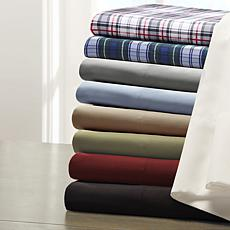 Madison Park Essentials Micro Splendor Sheet Set - Red - Queen