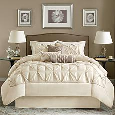 Madison Park Ivory Laurel Comforter Set - King