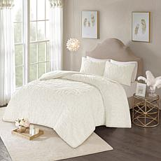 Madison Park Laetitia 2-pc Cotton Chenille Comforter Set- Twin/Twin XL