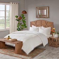 Madison Park Lillian Cotton Comforter Set in Ivory - Twin