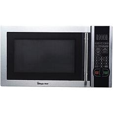 Magic Chef 1.1 Cu. ft. 1000W Microwave w Digital Touch Stainless Steel
