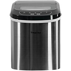 Magic Chef MCIM22ST 27lb-Capacity Ice Maker - Stainless