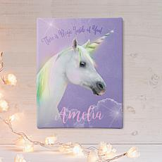 Magical Unicorn 11x14 Canvas