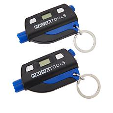 Magna Tools Auto Glass Breaker Keychain 2-pack
