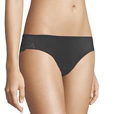Maidenform 3-pack Microfiber Lace-Back Tanga Panty