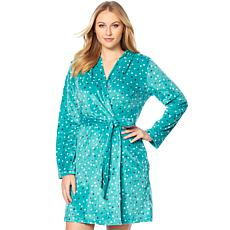 Maidenform Cozy Fleece Short Robe