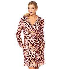 Maidenform Cozy Fleece Short Robe