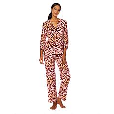 Maidenform Cozy Fleece Top and Pant Pajama Set