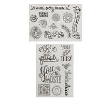 Maker's Movement Crafty Chica Buenas Vibras 18-piece Stamp Set