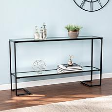Malston Narrow Metal Console - Black