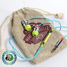 Margaritaville Mix2 In-Ear Earbuds w/Drawstring Pouch