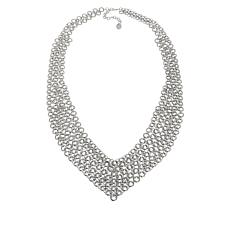 "MarlaWynne 35-1/2"" Chainmail Necklace"