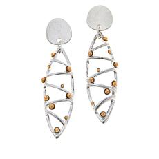 MarlaWynne Abstract Marquise-Shaped Drop Earrings