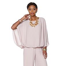 MarlaWynne Blouson Top with Liner