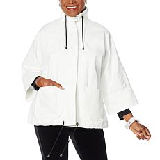 MarlaWynne Canvas Drama Jacket with Pockets