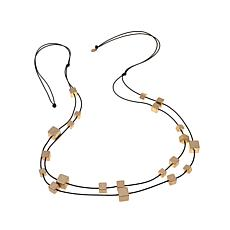 """MarlaWynne Cube Station 63"""" Necklace"""