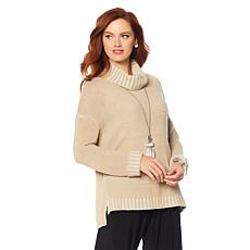 MarlaWynne Marled Turtleneck Sweater