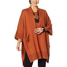 MarlaWynne Notched Collar Kimono